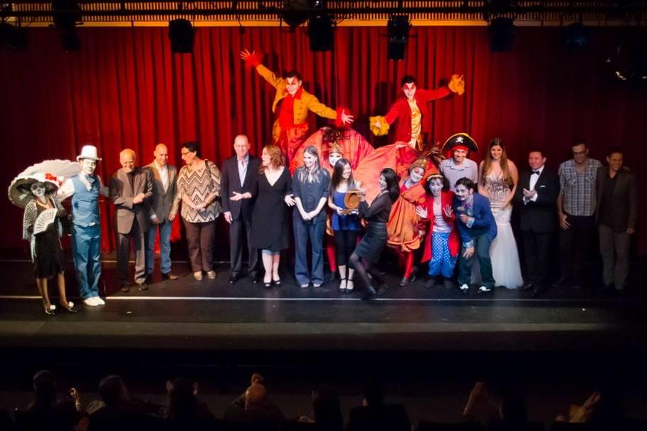 Gran Final de la entrega del Permio Ovación 2014 en el Teatro Poma.