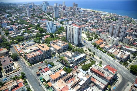 Barrio El Vedado, Habana, Cuba.