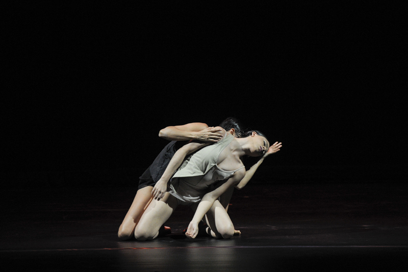 04/09/2014. Teatro Nacional, Ensayo del festival de coreografos. en la fotografía:  Pablo Caravaca con la coreografía