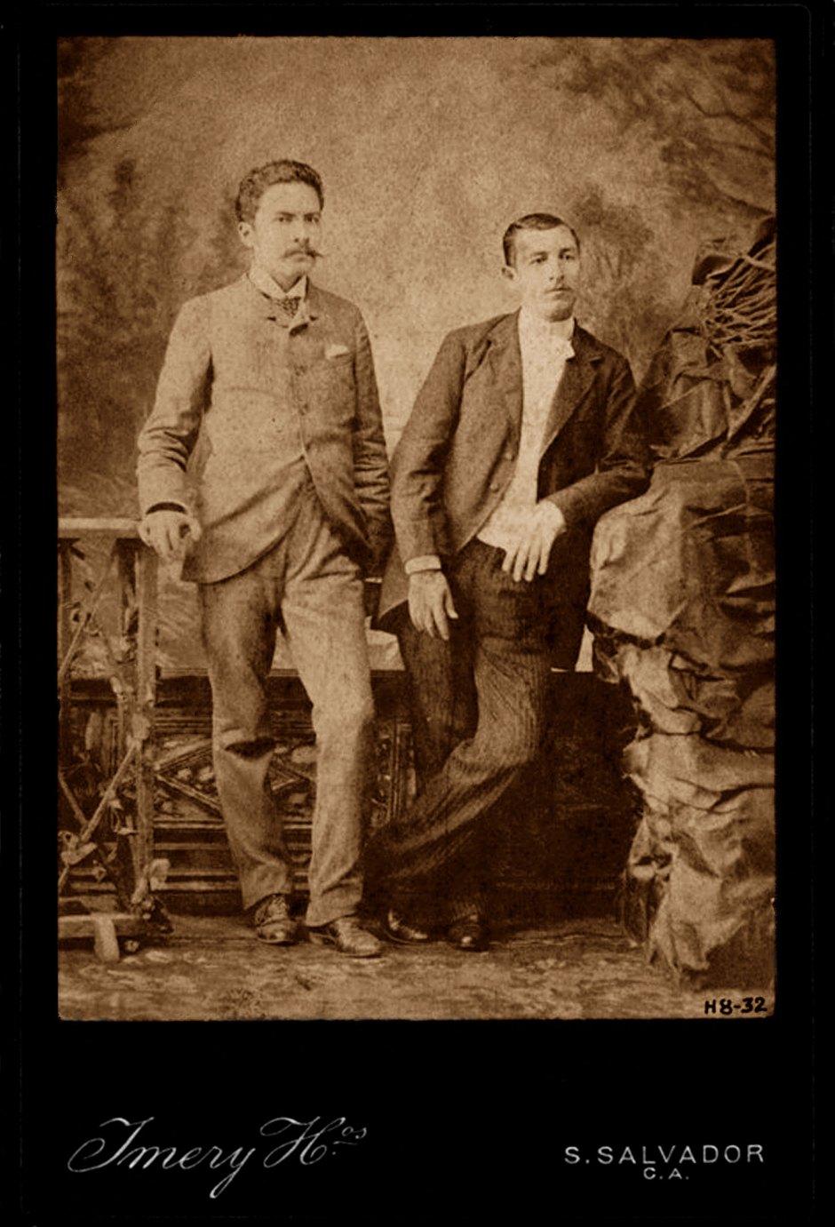1889 a Hnos Imery Rubén Darío y Jesús Marcelino Pacheco