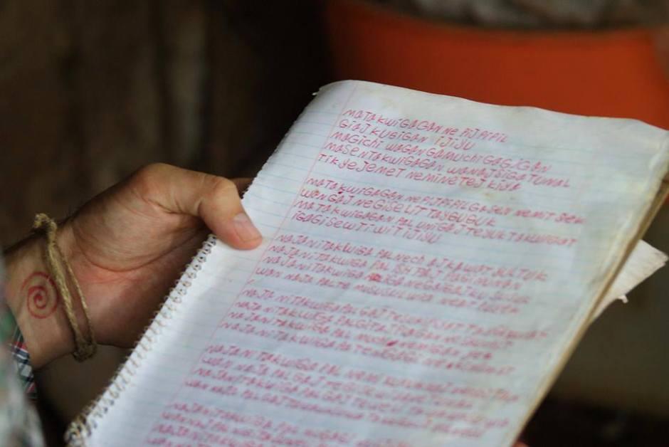 manuscrito de paula lopez